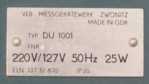 Модем DU1000 (ГДР)