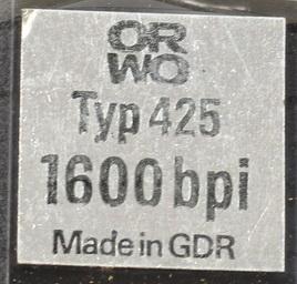 Магнитная лента ORWO (ГДР)