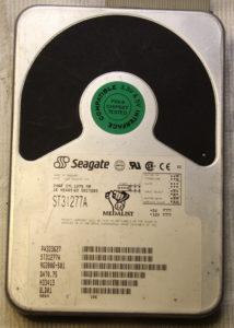 Винчестер Seagate ST31277A