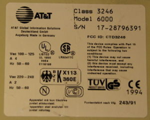 AT&T Globalyst 550
